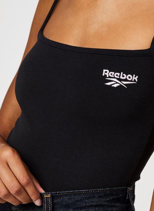 Kleding Reebok Qqr Strappy Body Zwart voorkant