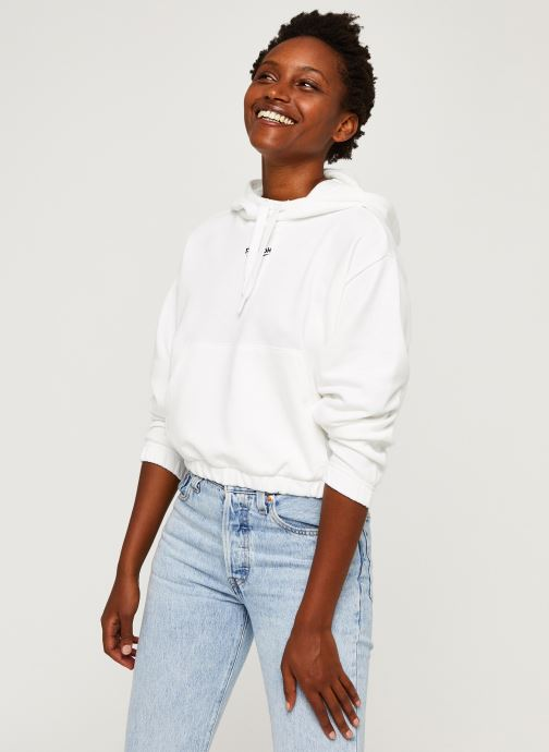 Sweatshirt hoodie - Qqr Crop Hoodie
