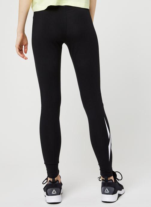 Vêtements Reebok Cl F Vector Legging Noir vue portées chaussures