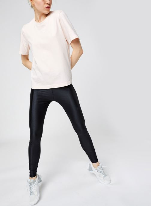 Vêtements Reebok High Shine Spandex Legging Noir vue bas / vue portée sac