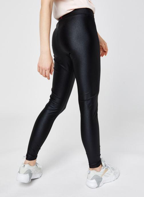 Vêtements Reebok High Shine Spandex Legging Noir vue portées chaussures