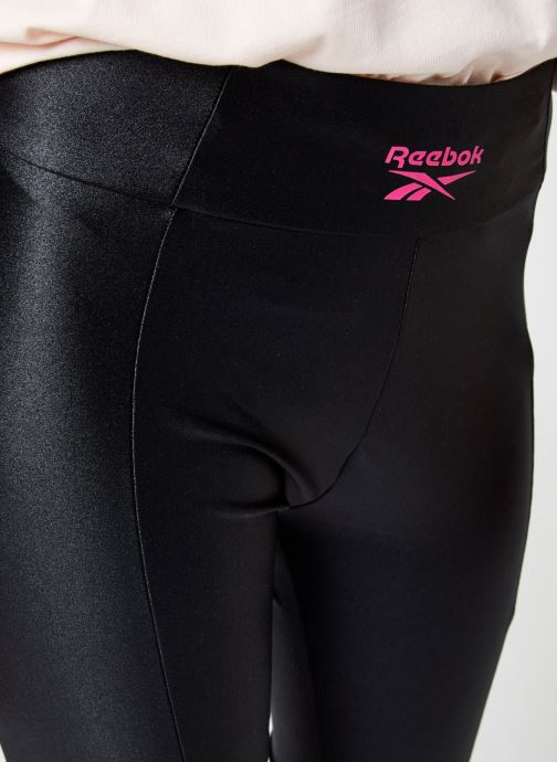 Vêtements Reebok High Shine Spandex Legging Noir vue face