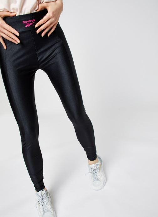 Vêtements Reebok High Shine Spandex Legging Noir vue détail/paire