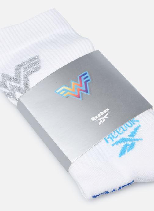 Socken & Strumpfhosen Reebok Ww Crew Sock weiß schuhe getragen