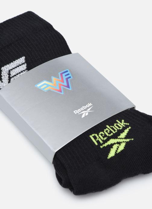 Socken & Strumpfhosen Reebok Ww Crew Sock schwarz schuhe getragen