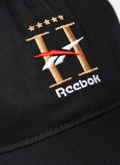 Casquettes Reebok Cl Hotel Cap Noir vue face