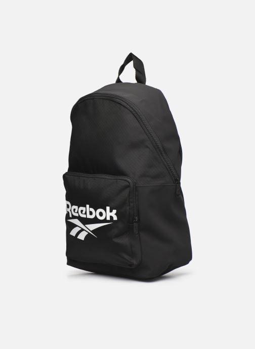 Rucksäcke Reebok Cl Fo Backpack schwarz schuhe getragen