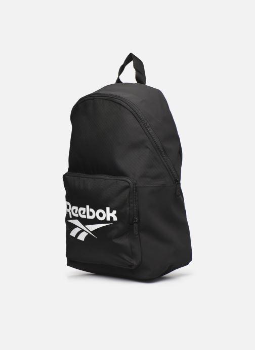 Zaini Reebok Cl Fo Backpack Nero modello indossato