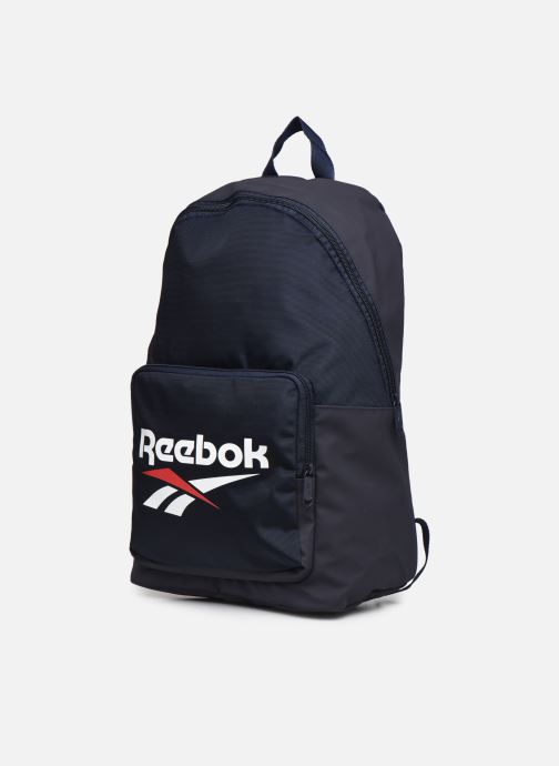 Zaini Reebok Cl Fo Backpack Azzurro modello indossato