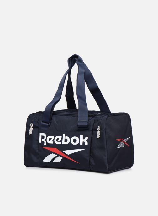Borsa da palestra Reebok Cl Archive Grip Xs Azzurro modello indossato