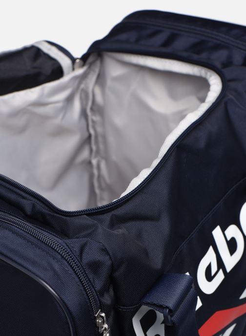 Sacs de sport Reebok Cl Archive Grip Xs Bleu vue derrière