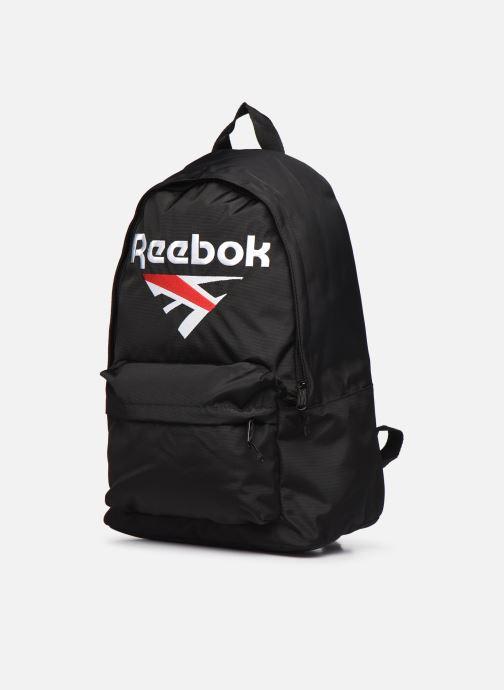 Rucksäcke Reebok Cl Supporter Bp schwarz schuhe getragen