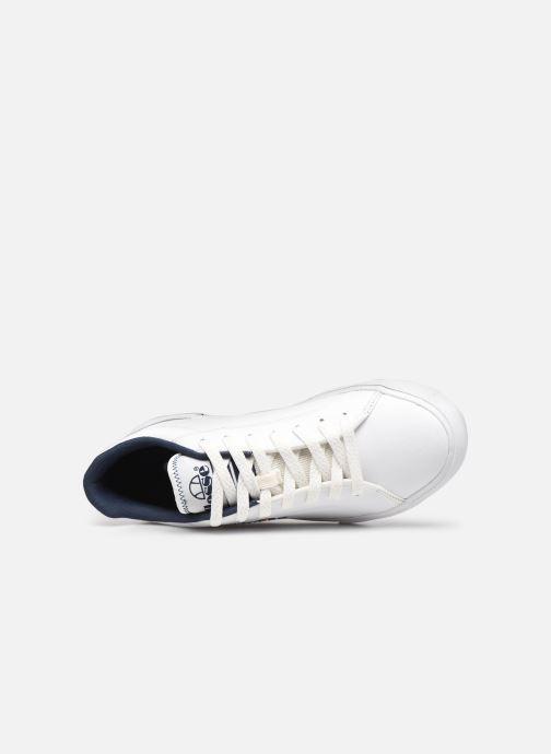 Sneakers Ellesse Taggia Lthr Bianco immagine sinistra
