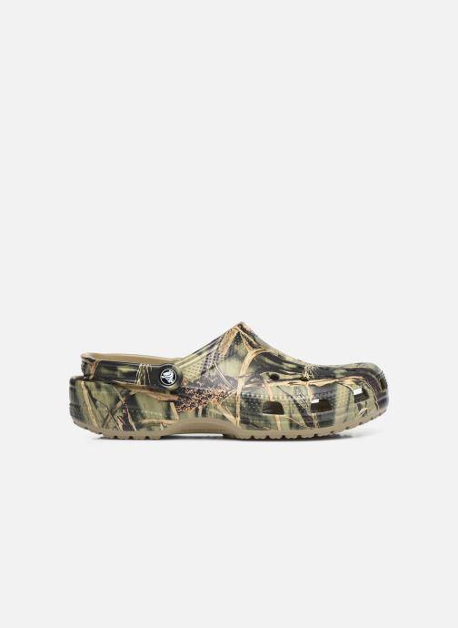 Sandali e scarpe aperte Crocs Classic Realtree Verde immagine posteriore