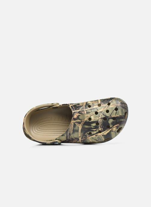 Sandali e scarpe aperte Crocs Classic Realtree Verde immagine sinistra
