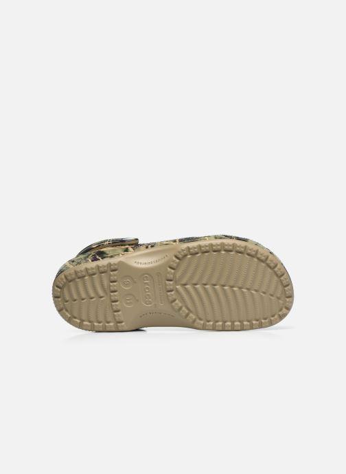 Sandali e scarpe aperte Crocs Classic Realtree Verde immagine dall'alto