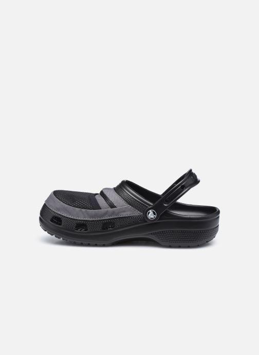 Sandalias Crocs Classic Venture Pack Clog Negro vista de frente
