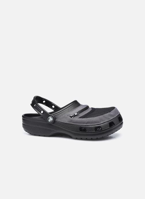 Sandalias Crocs Classic Venture Pack Clog Negro vistra trasera