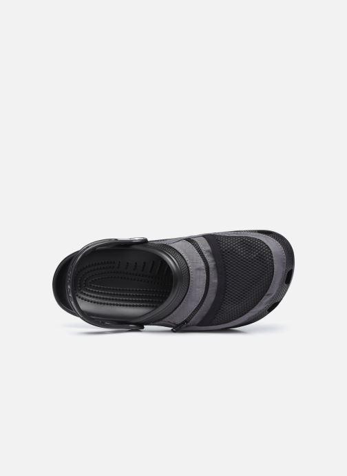 Sandalen Crocs Classic Venture Pack Clog schwarz ansicht von links