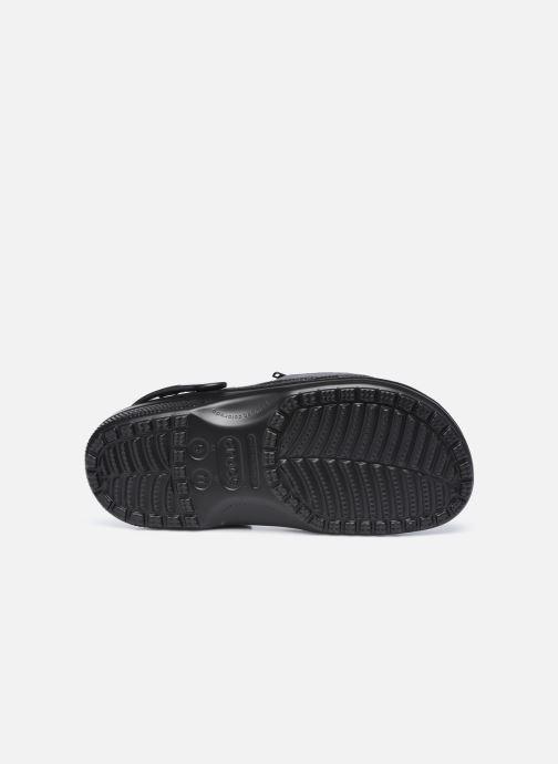 Sandalen Crocs Classic Venture Pack Clog schwarz ansicht von oben