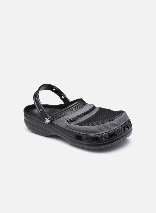 Sandalias Crocs Classic Venture Pack Clog Negro vista de detalle / par
