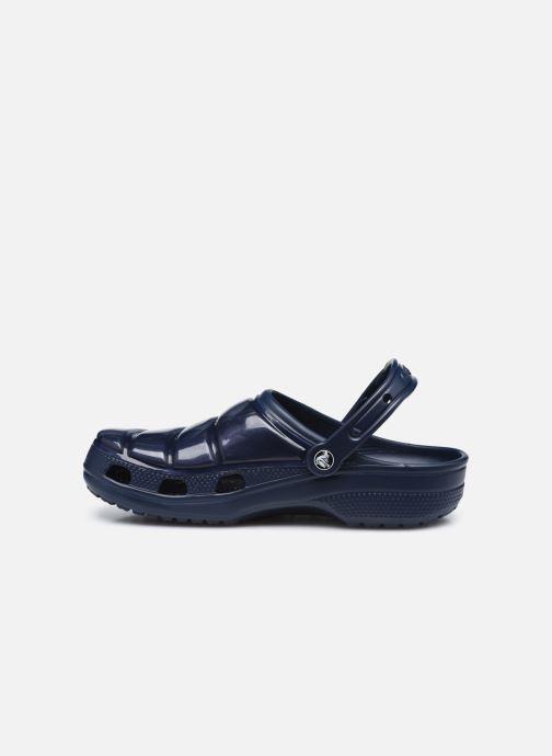 Sandali e scarpe aperte Crocs Classic Neo Puff Clog Azzurro immagine frontale