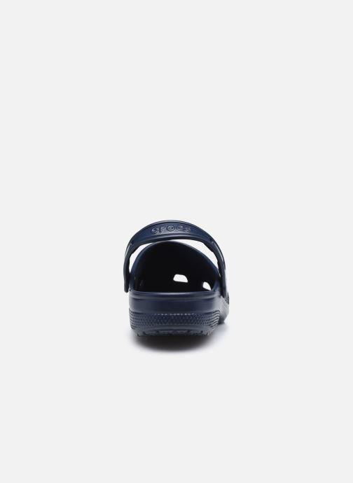 Sandalen Crocs Classic Neo Puff Clog blau ansicht von rechts