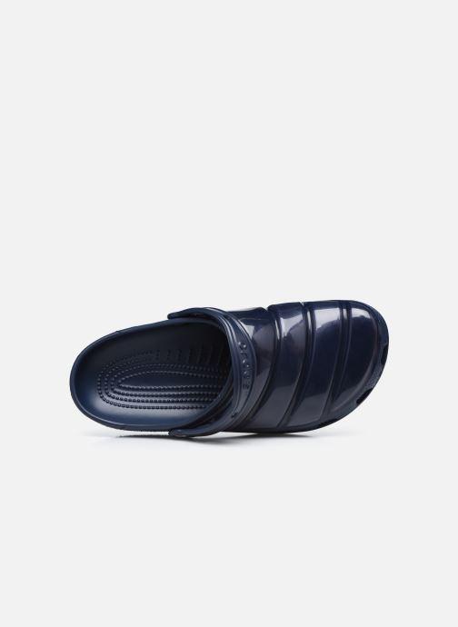 Sandalen Crocs Classic Neo Puff Clog blau ansicht von links