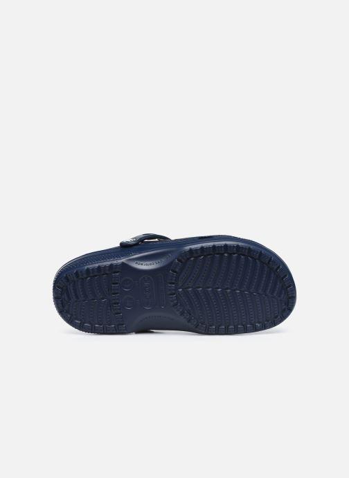 Sandali e scarpe aperte Crocs Classic Neo Puff Clog Azzurro immagine dall'alto