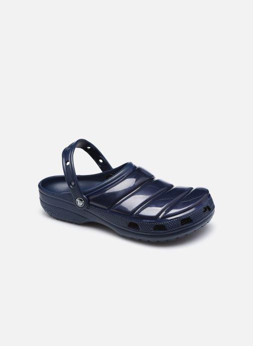 Sandalen Crocs Classic Neo Puff Clog blau detaillierte ansicht/modell
