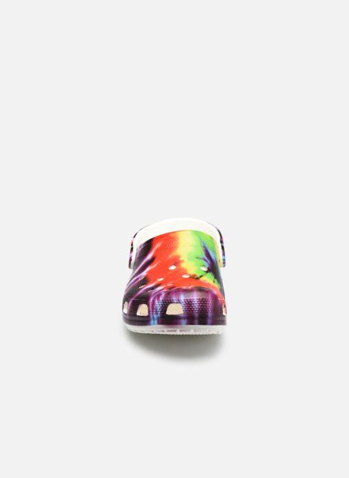 Mules et sabots Crocs Classic Tie Dye Graphic Clog W Multicolore vue portées chaussures