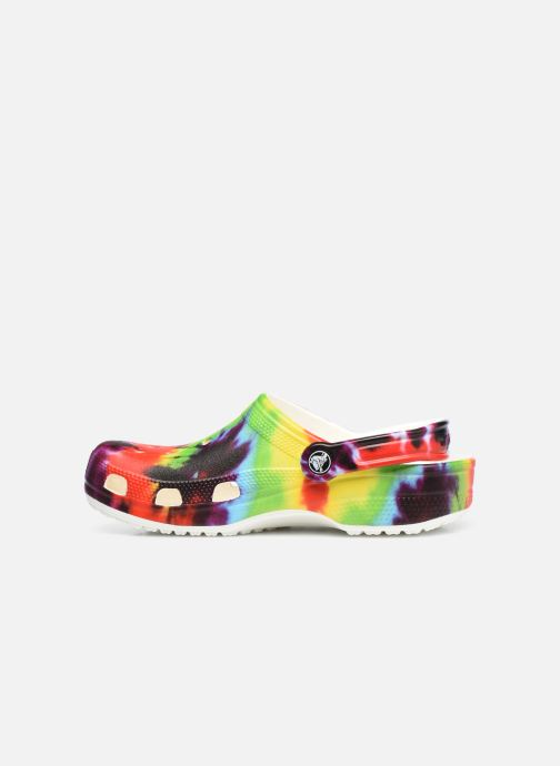 Mules et sabots Crocs Classic Tie Dye Graphic Clog W Multicolore vue face