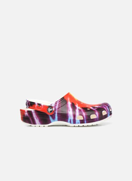 Mules et sabots Crocs Classic Tie Dye Graphic Clog W Multicolore vue derrière
