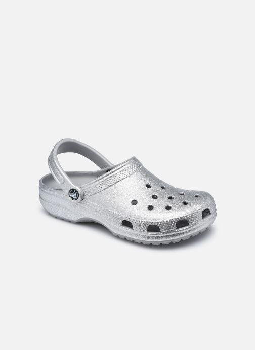 Clogs & Pantoletten Crocs Classic Glitter Clog W grau detaillierte ansicht/modell