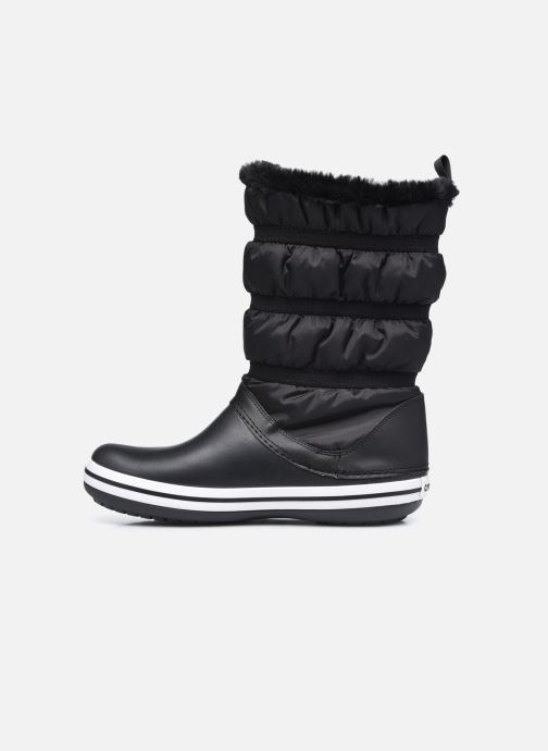 Stiefel Crocs Crocband Boot W schwarz ansicht von vorne