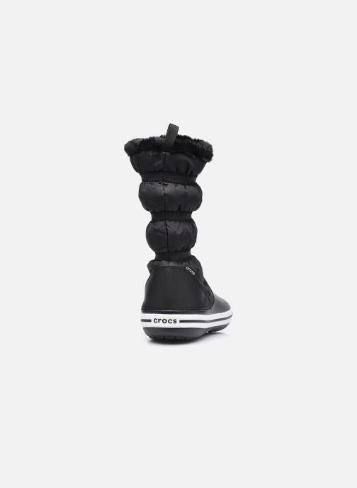 Stiefel Crocs Crocband Boot W schwarz ansicht von rechts