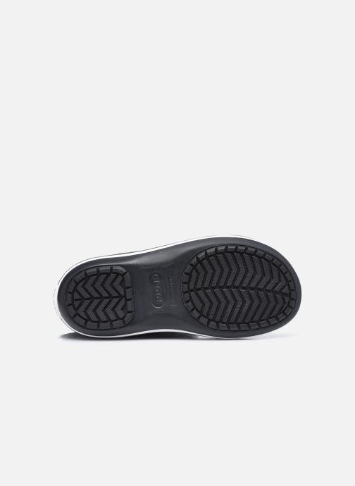 Stiefel Crocs Crocband Boot W schwarz ansicht von oben