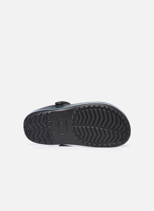 Clogs & Pantoletten Crocs Crocband Iridescent Band Clog W schwarz ansicht von oben
