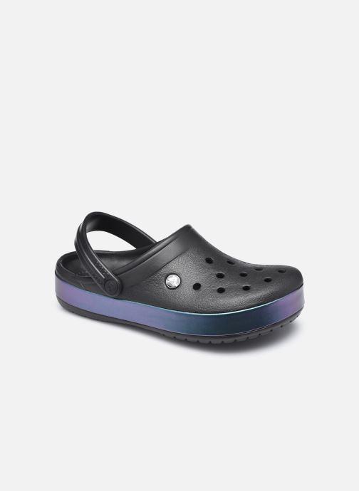 Clogs & Pantoletten Crocs Crocband Iridescent Band Clog W schwarz detaillierte ansicht/modell