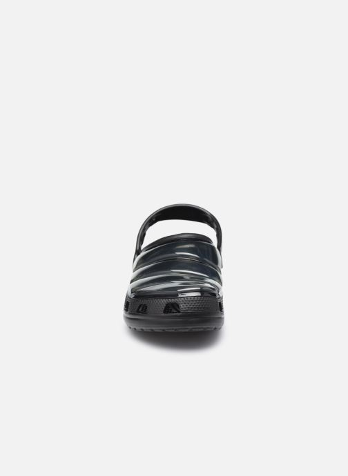 Clogs & Pantoletten Crocs Classic Neo Puff Clog W schwarz schuhe getragen