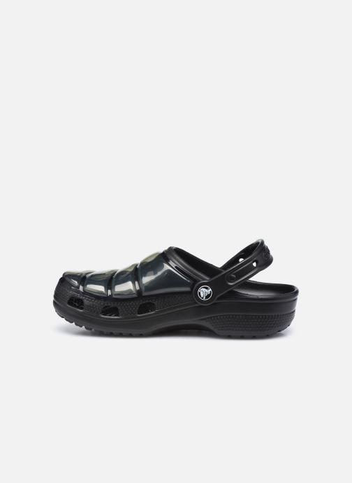 Clogs & Pantoletten Crocs Classic Neo Puff Clog W schwarz ansicht von vorne