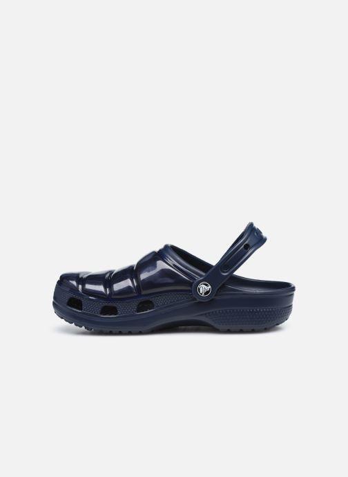 Mules et sabots Crocs Classic Neo Puff Clog W Bleu vue face