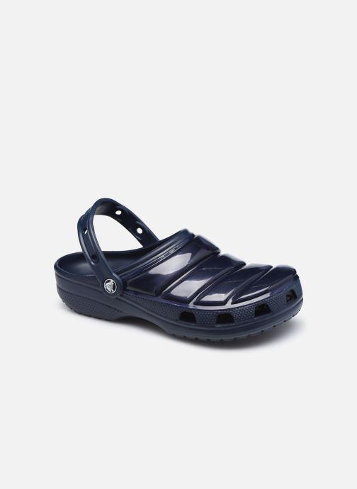 Mules et sabots Crocs Classic Neo Puff Clog W Bleu vue détail/paire