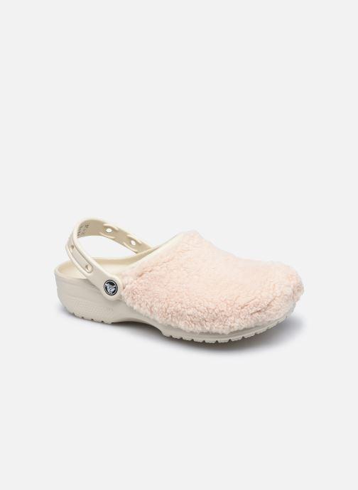 Zoccoli Crocs Classic Fuzz Mania Clog Bianco vedi dettaglio/paio