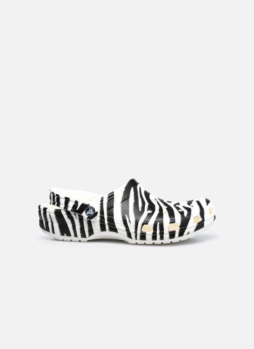 Zoccoli Crocs Classic Animal Print Clog W Bianco immagine posteriore
