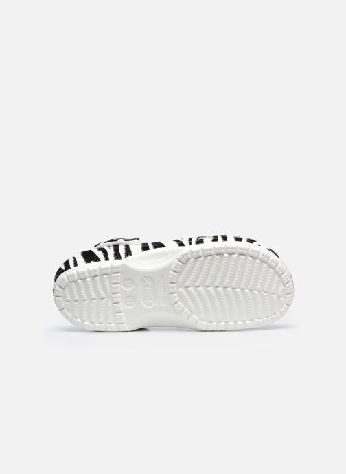 Wedges Crocs Classic Animal Print Clog W Wit boven