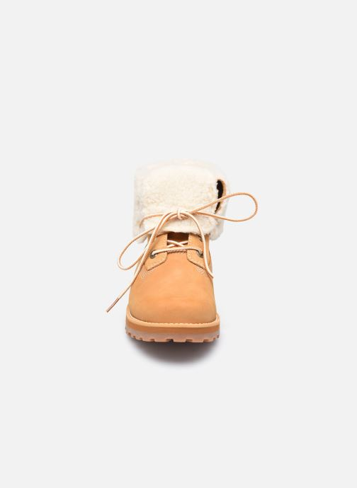 Bottines et boots Timberland Courma Kid Shrl RT Marron vue portées chaussures