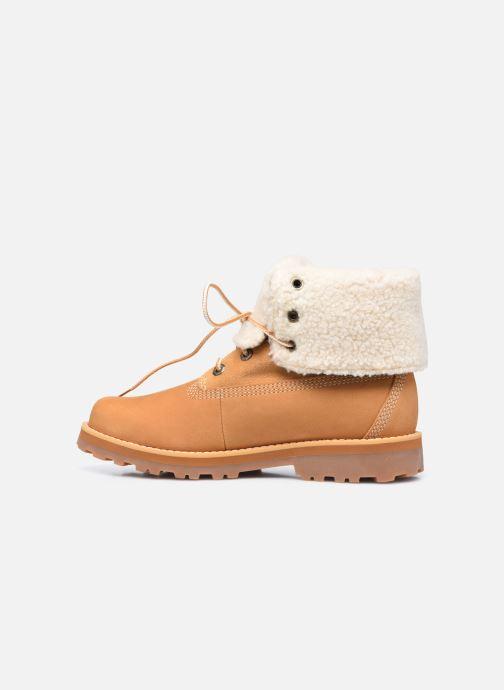 Boots en enkellaarsjes Timberland Courma Kid Shrl RT Bruin voorkant