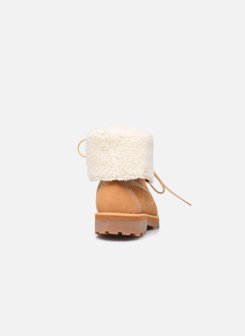 Boots en enkellaarsjes Timberland Courma Kid Shrl RT Bruin rechts