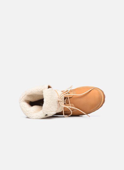 Boots en enkellaarsjes Timberland Courma Kid Shrl RT Bruin links